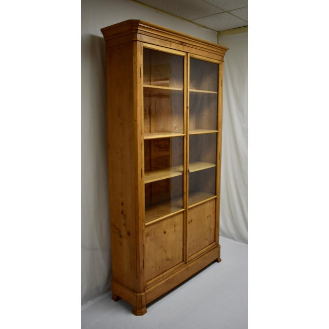 A fine example of the understated elegance of much nineteenth century French pine furniture, this tall and slender...