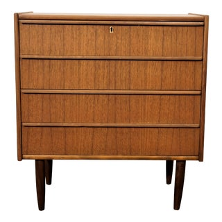 "Original Danish Mid Century Teak Side Dresser - ""Sætt"" For Sale"