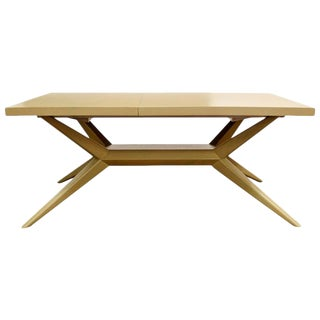 Mid-Century Modern Harold Schwartz for Romweber Expandable Dining Table, 1950s For Sale