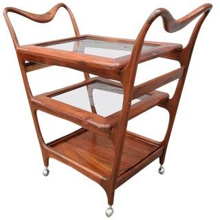 Scapinelli Jacaranda Bar Cart For Sale