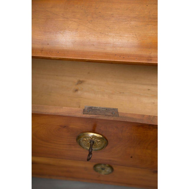 19th Century Cherrywood Biedermeier Chest of Drawers - Image 4 of 10