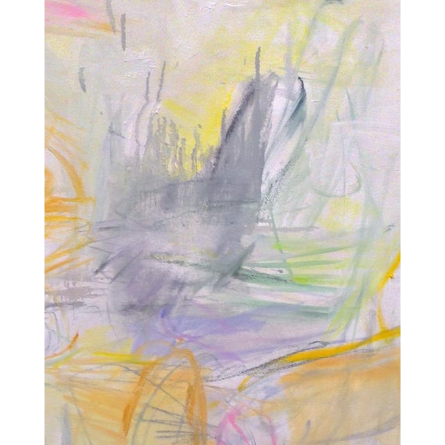 """Abstract """"Sydney Sunrise"""" by Trixie Pitts Large Abstract Expressionist Oil Painting For Sale - Image 3 of 13"""