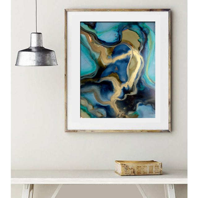 'ALCHEMY' Original Abstract Painting by Linnea Heide - Image 2 of 5