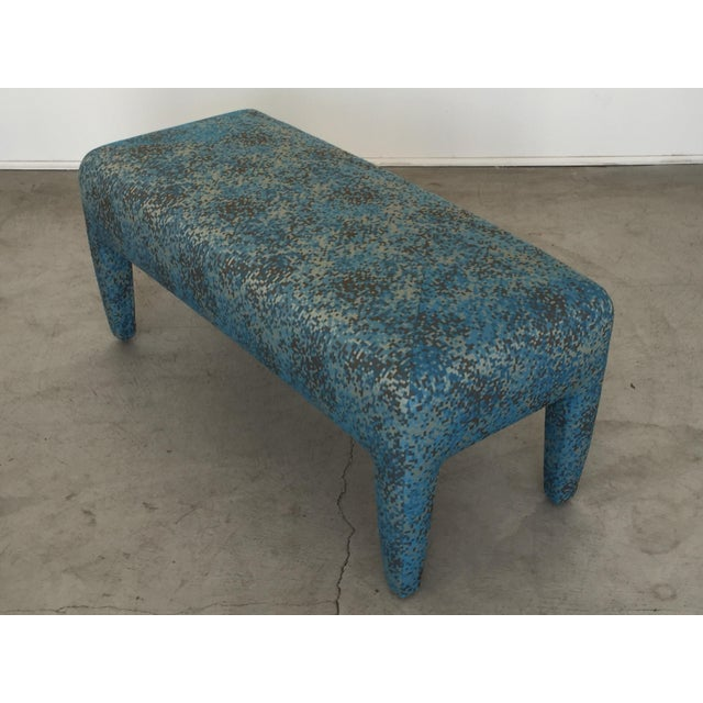 Hollywood Regency Mid-Century Donghia Bench For Sale - Image 3 of 13
