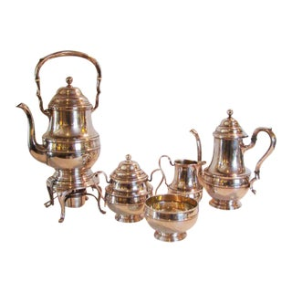 International Sterling Tea Set For Sale