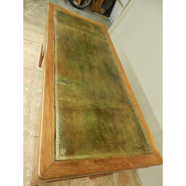 19th C. French Leather Top Desk For Sale - Image 11 of 12