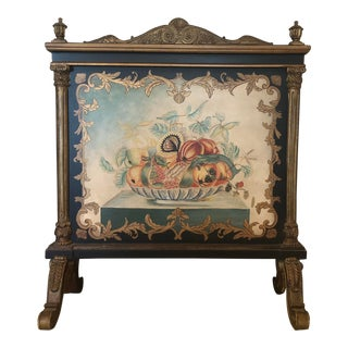 Louis XV Decorative Fireplace Screen For Sale