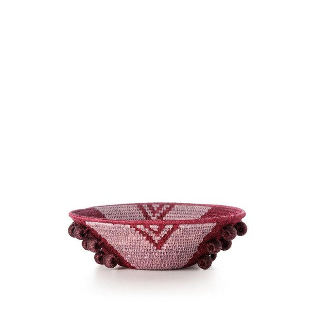 Envelope Mini Basket Plum/lilac/eggplant For Sale In New York - Image 6 of 6