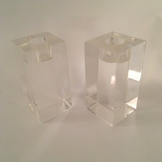 Lucite Candlesticks Preview