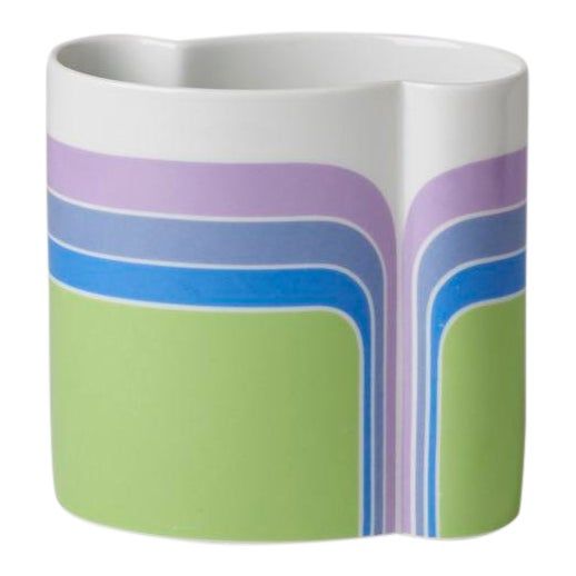 Mid Century/Op Art Vase For Sale