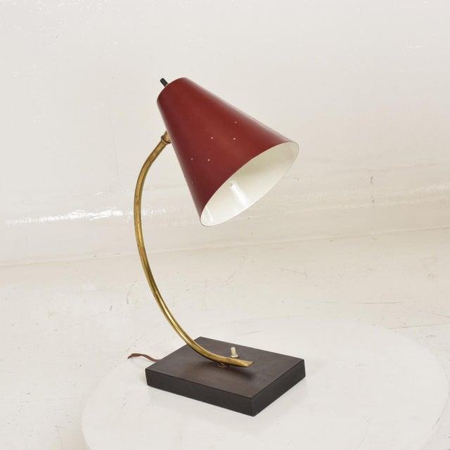 1960s Stilnovo Mid-Century Modern Italian Desk Task Lamp For Sale - Image 5 of 8