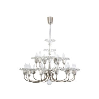 Grand Fountain Chandelier By Emil Stejnar For Sale