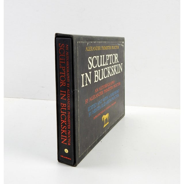 "Alexander P. Proctor ""Sculptor in Buckskin"" 1971 Book - Image 5 of 11"