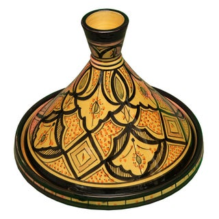 Moroccan Ceramic Lidded Bowl Preview