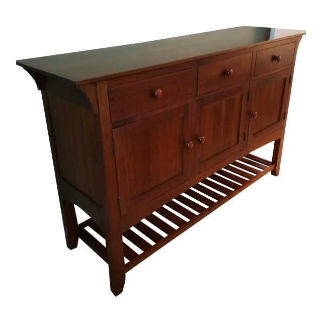 Ethan Allen American Impressions Cherry Buffet For Sale