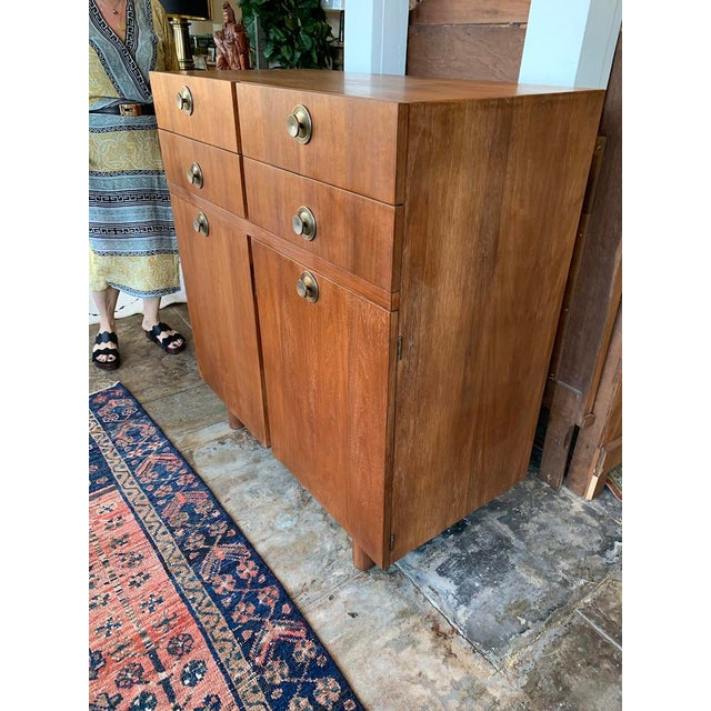 Mid-Century Modern Mid Century Modern American of Martinsville Highboy For Sale - Image 3 of 11