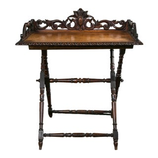19th Century English Tray Table For Sale