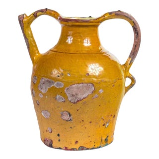 French Terracotta Water Pitcher 'Gargoulette', 19th Century For Sale