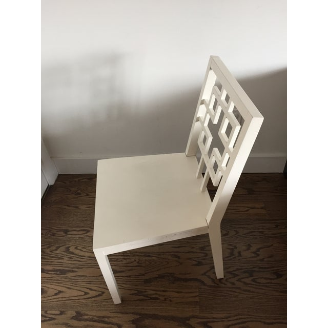 West Elm Overlapping Square Side Chairs - 4 - Image 5 of 6