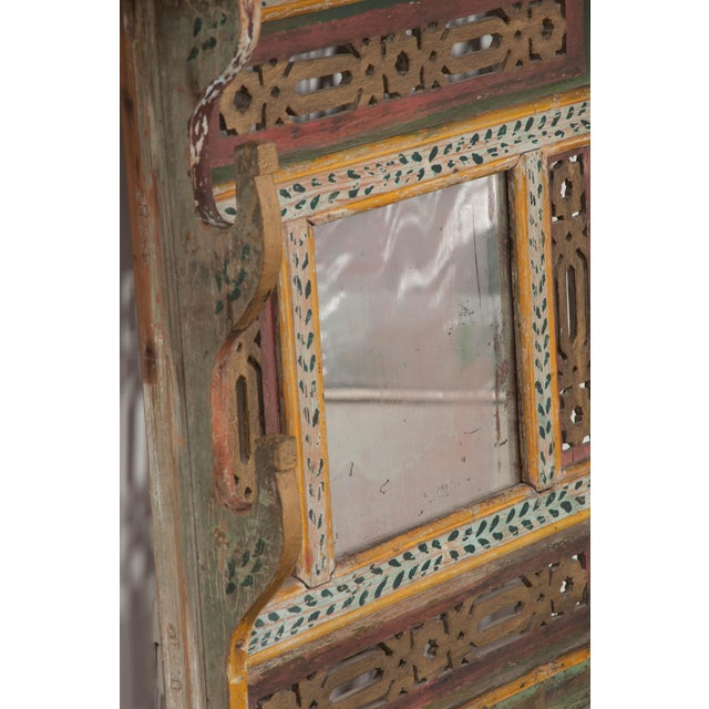 Austrian Early 19th Century Hand-Painted Pine Wall Mounted Coat Rack For Sale - Image 10 of 13