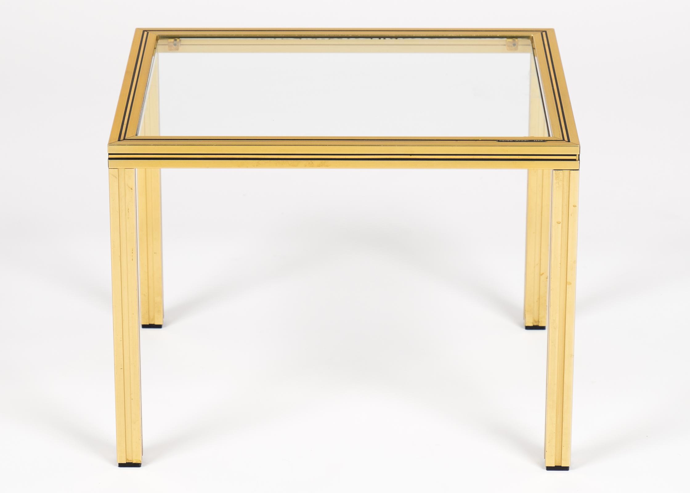 Vintage Vandel Brass Side Tables  A Pair   Image 5 Of 10