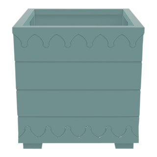 Ocean Drive Outdoor Planter Large, Green For Sale