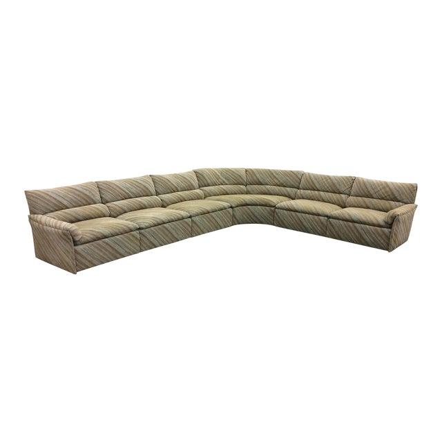Saporiti Italia Six-Piece Sectional Sofa For Sale