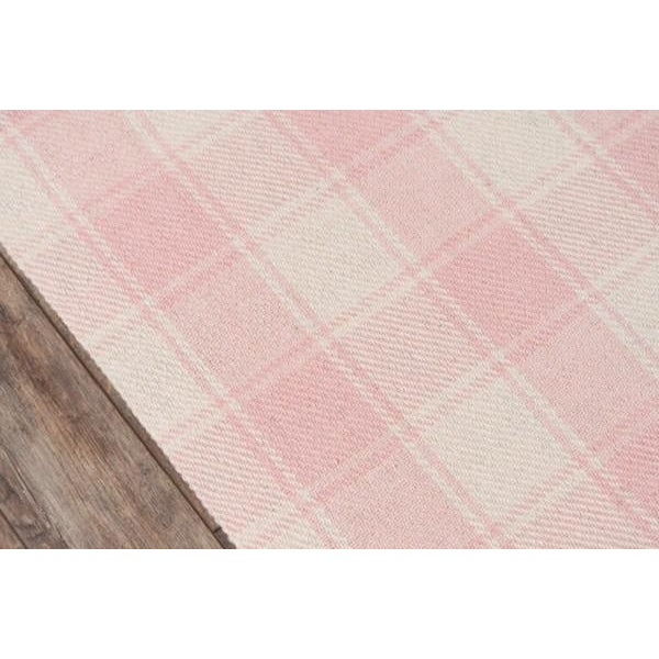 Modern Erin Gates Marlborough Charles Pink Hand Woven Wool Area Rug 5' X 8' For Sale - Image 3 of 6