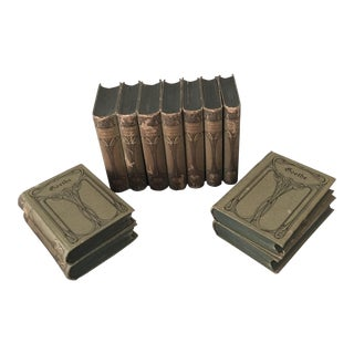 Antique German Goethe Books - Set of 11