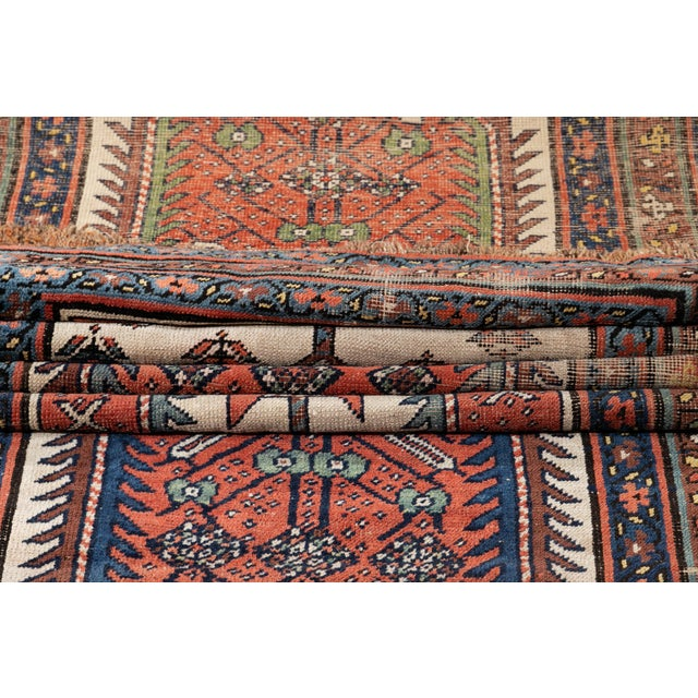 Mid 20th Century Vintage Runner Rug For Sale - Image 4 of 9