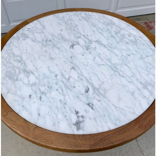 Vintage Italian Marble Table - Image 2 of 5