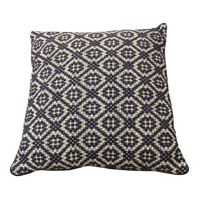 Gray Italian Artisan Pillow - Image 1 of 4