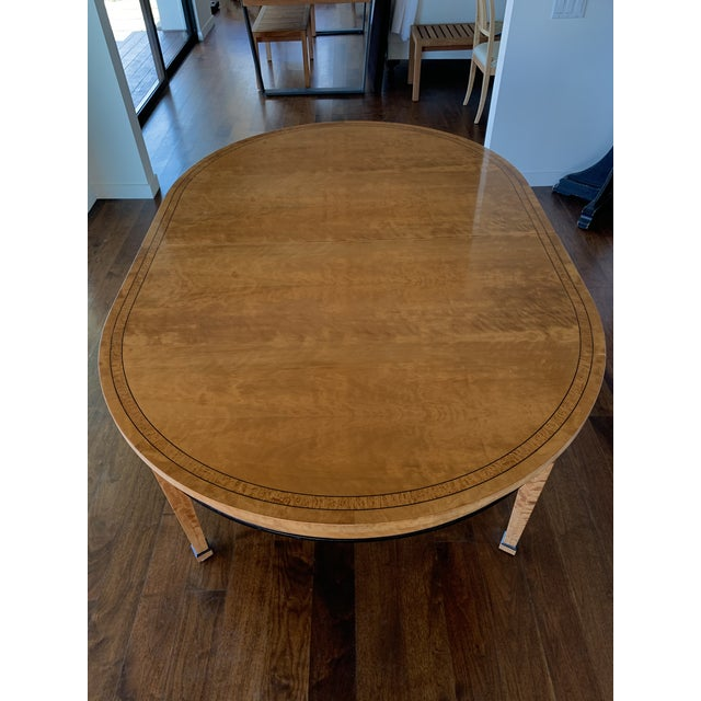 Biedermeier Style Extendable Dining Set For Sale - Image 9 of 10