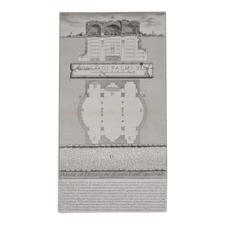 19th Century Piranesi Architectural Engraving