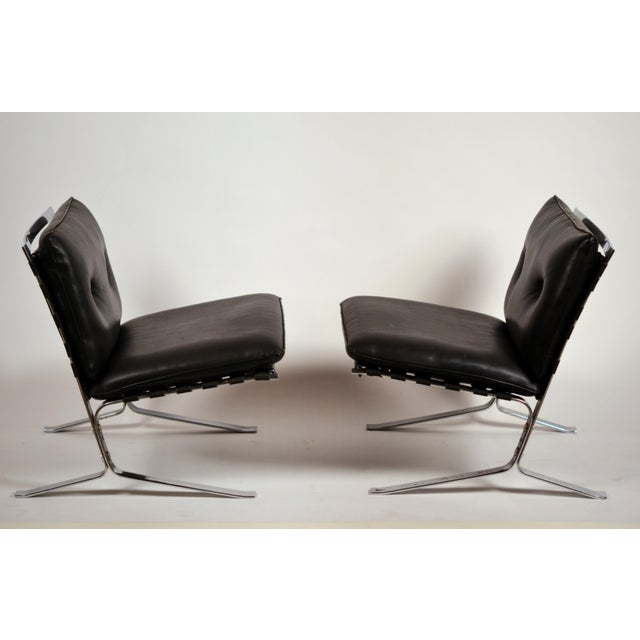 Bauhaus Original 'Joker' Lounge Chairs by Olivier Mourgue for Airborne - a Pair For Sale - Image 3 of 12