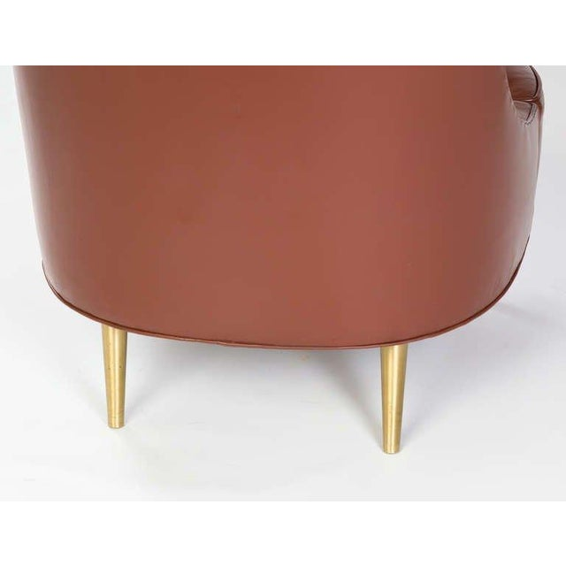1950s Edward Wormley for Dunbar Tear Drop Chair, 1957 For Sale - Image 5 of 7