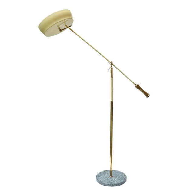Art Deco Angelo Lelli Design Floor Lamp For Sale - Image 3 of 11