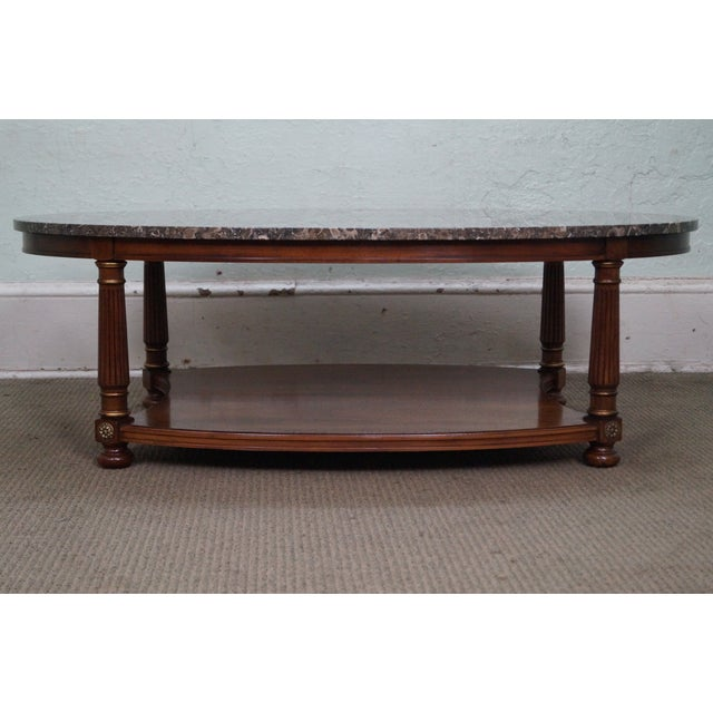 AGE/COUNTRY OF ORIGIN: Approx 50 years, America DETAILS/DESCRIPTION: High quality American made mahogany frame coffee...