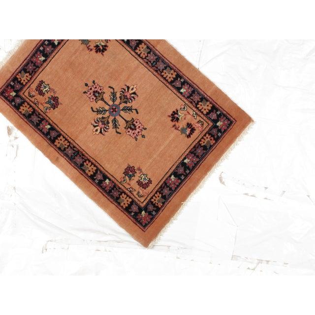 "Persian Bijar Wool Rug 2'3"" x 3'1"" - Image 4 of 4"