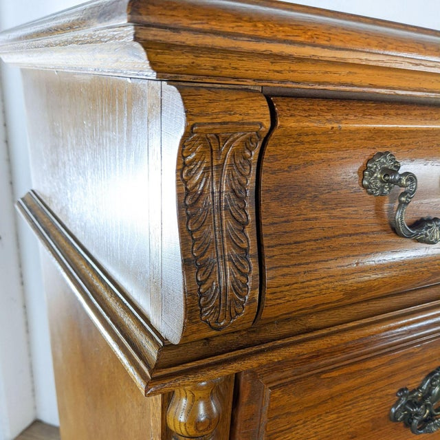 Stanley Furniture Traditional Wooden Chest For Sale In San Francisco - Image 6 of 10