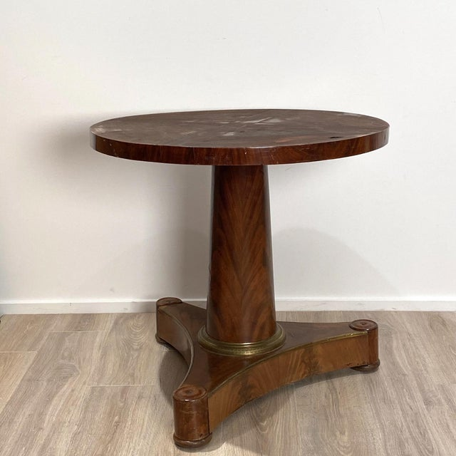 French Empire Style Center Table For Sale - Image 3 of 6