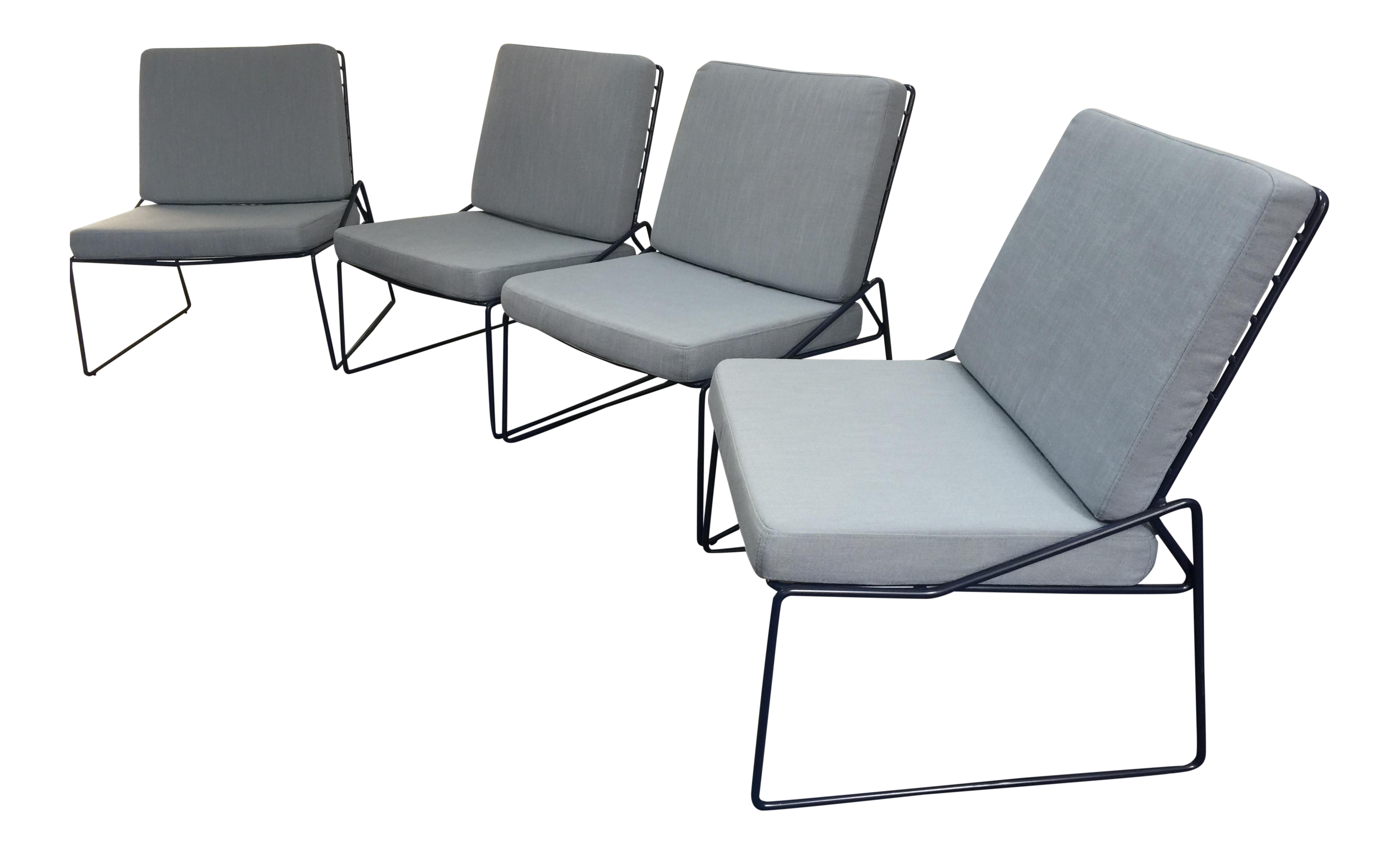 Industry West Cricket Lounge Chairs   Set Of 4