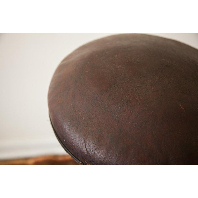 1920s Antique Medical Stool For Sale - Image 5 of 9