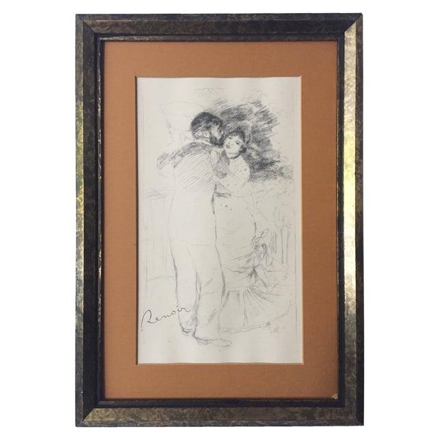 "Vintage Renoir Reprint ""Dance at Chatou"" - Image 2 of 7"