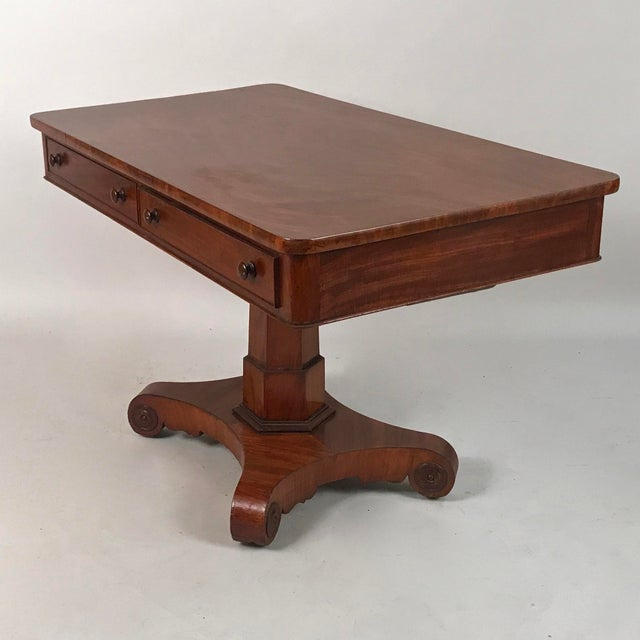 1825 George IV Mahogany Writing Desk For Sale - Image 11 of 11