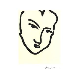Henri Matisse, Nadia Au Visage Penche, Offset Lithograph For Sale