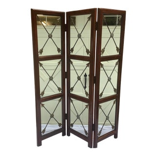 Regency Style Screen, Attr. To Maitland Smith For Sale