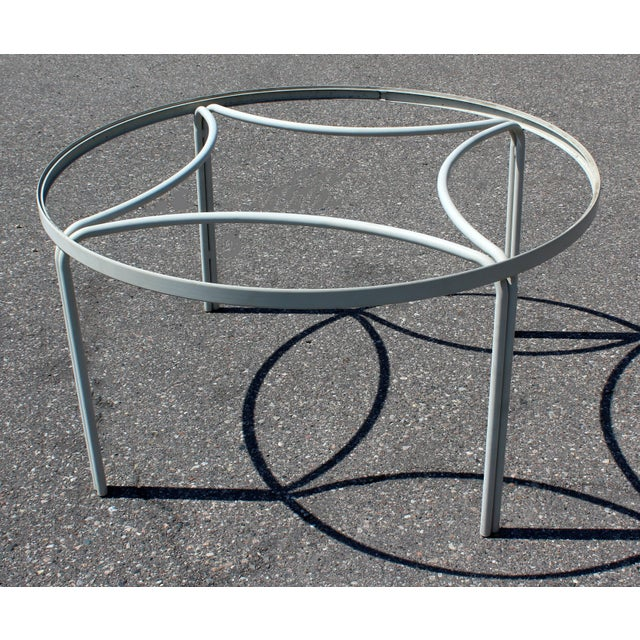 Mid-Century Modern Brown Jordan Kantan Patio Dinette Set Table Four Chairs 1960s For Sale In Detroit - Image 6 of 8