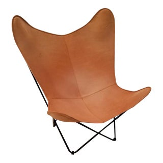 Classic Argentine Saddle Leather BKF/Butterfly Chair