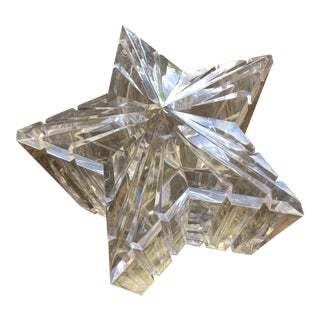 Acrylic Star Ice Bucket